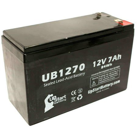 Casil/Chee Yuen Industries CA1270 Battery Replacement - UB1270 Universal Sealed Lead Acid Battery (12V, 7Ah, 7000mAh, F1 Terminal, AGM, SLA) - Includes TWO F1 to F2 Terminal Adapters - image 4 de 4