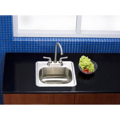 Attrayant Kingston Brass Carefree 17u0027u0027 L X 17u0027u0027 W Drop In Kitchen Sink