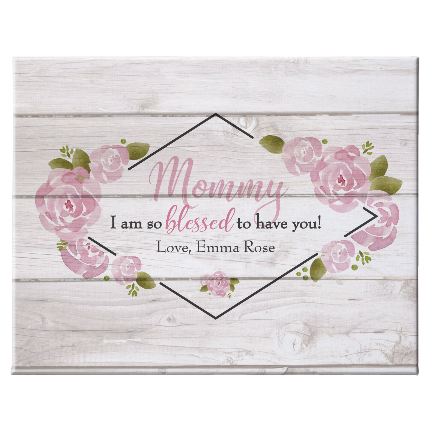 Personalized So Blessed Canvas - Available in Single Child or Multiple and 2 Size Options