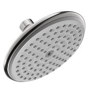 "Hansgrohe 04343820 Raindance E Shower Head Only Single Function with Air Injection Technology and 6"" Spray Face, Various Colors"
