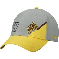 Kyle Busch Name & Number Adjustable Hat - Gray - OSFA