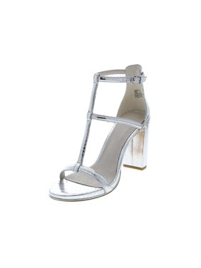 Kenneth Cole New York Womens Deandra Leather Open Toe Ankle Strap Classic Pumps