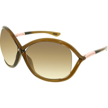 "Tom Ford Women's ""Whitney"" Oversized Butterfly Sunglasses FT0009"