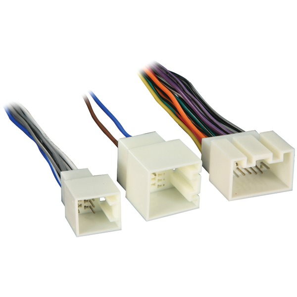 metra 70 5700 radio wiring harness for ford prem snd 98 up power 4 21 pin radio harness ford metra 70 5700 radio wiring harness for ford prem snd 98 up power