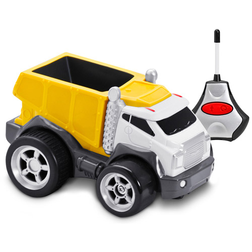 Kid Galaxy Soft, Safe and Squeezable Remote-Control Dump Truck