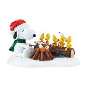 Department 56 Peanuts Village Snoopy Campfire Buddies 4047194 by Department 56