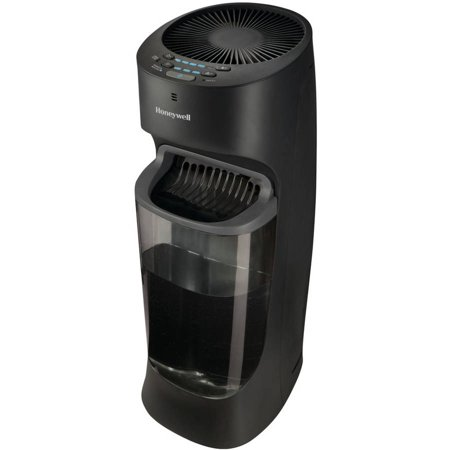 Honeywell Top Fill Tower Humidifier with Humidistat Black ...