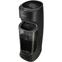 Honeywell Top Fill Tower Humidifier with Humidistat Black, HEV615B