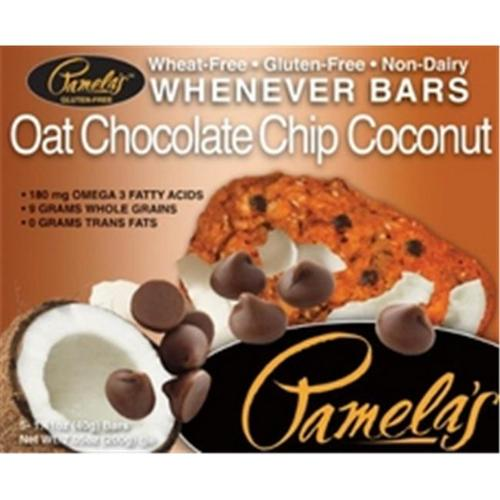 Pamela'S Oat Chocolate Chip Coconut Bars 5 Ct -Pack of 6