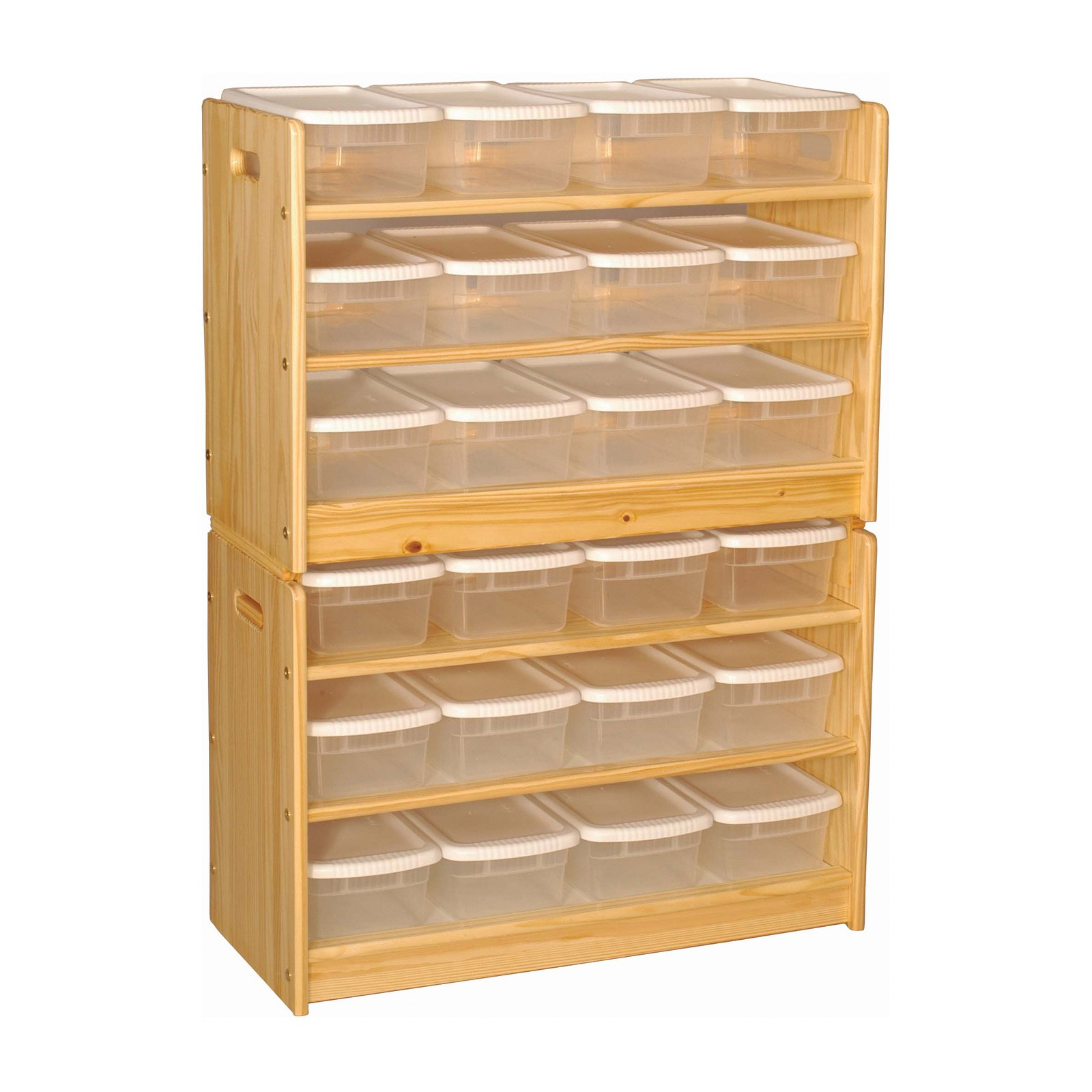 Little Colorado 24 Bin Toy Organizer