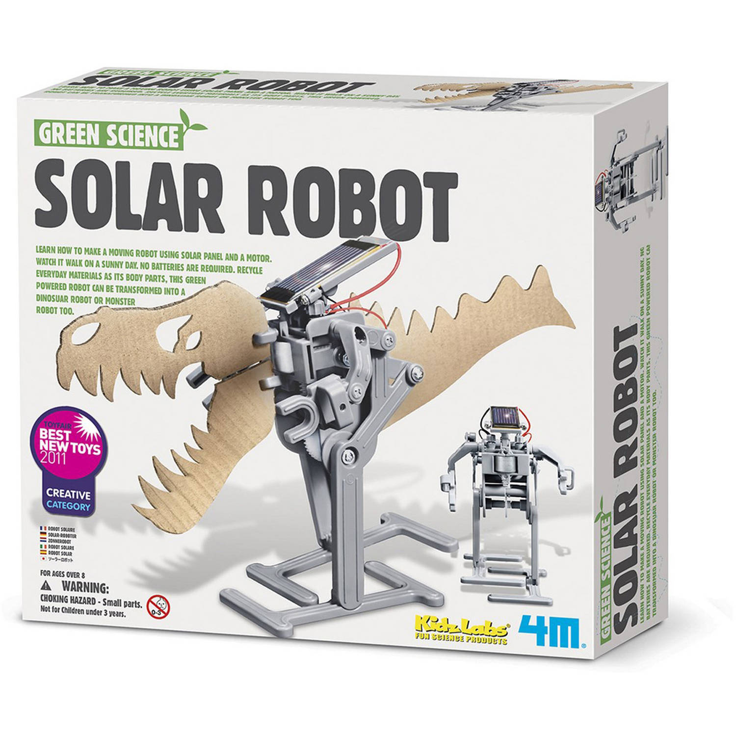 4M Solar Robot Science Kit, STEM