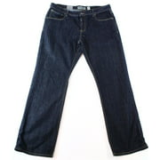 INC NEW Solid Indigo Blue Mens Size 32X32 Kaplan Relaxed Fit Denim Jeans