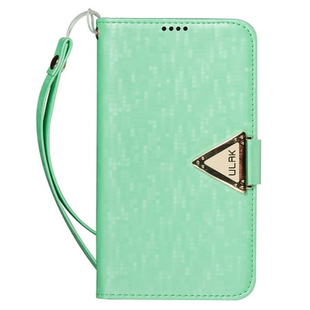 ULAK Galaxy S4 Case, S4 Case - Luxury PU Leather Wallet Case Flip Cover Skin Stand Built-in Card Slots Credit Card Holder for Samsung Galaxy S4 S IV