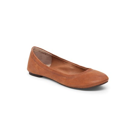 Emmie Leather Ballet Flats - 1920 Themed Clothing