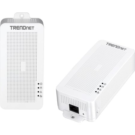 TRENDnet TPL-331EP2K Powerline 200 AV PoE+ Adapter Kit - 2 1 x Network RJ-45