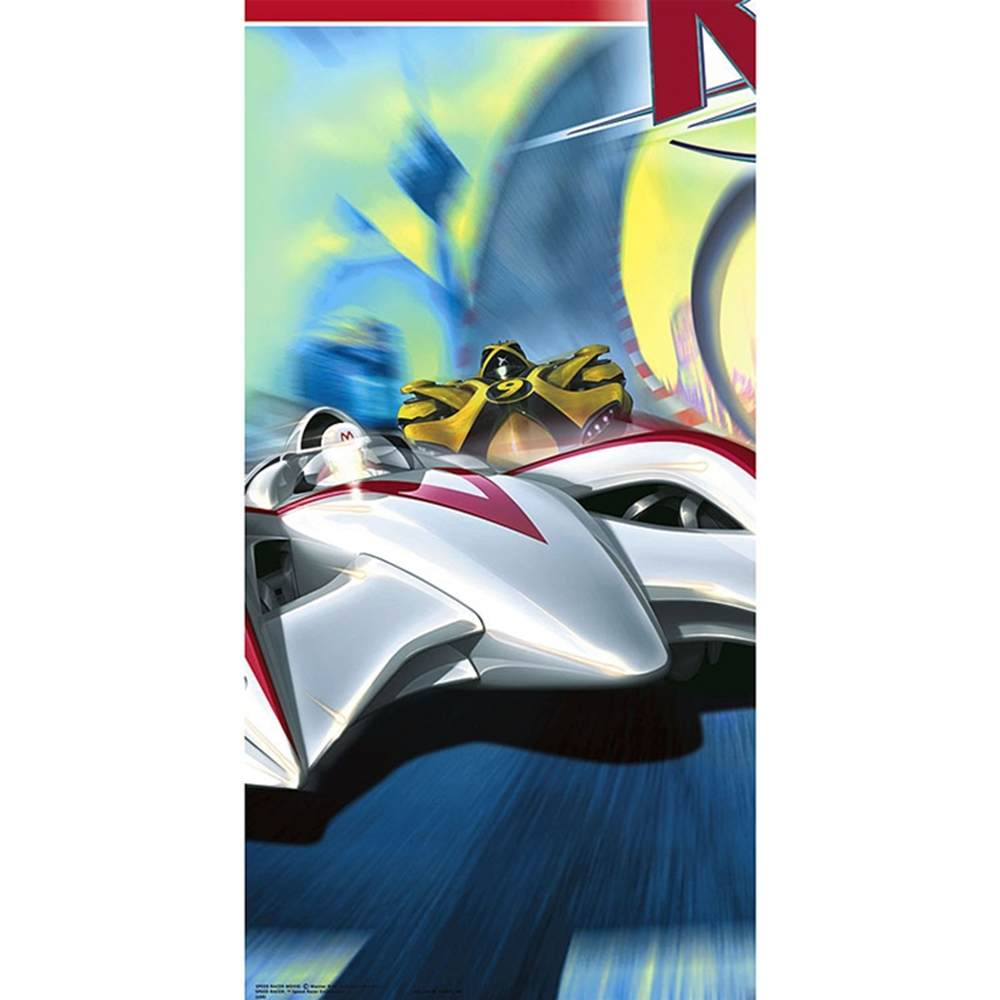 Speed Racer Table Cover Party Supplies
