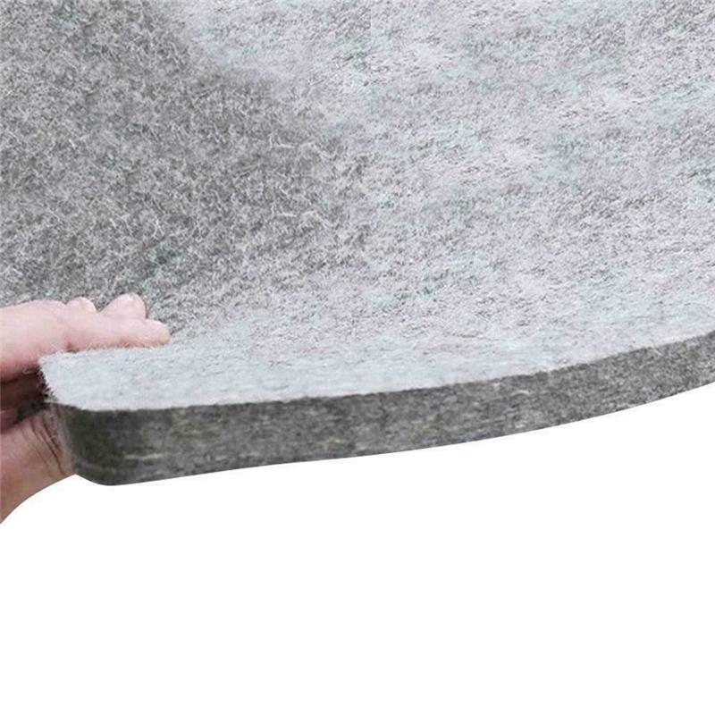 Lalaoo Wool Pressing Mat Portable ironing mat pressing mat Ironing Pad High Temperature Ironing Board Felt Press Mat for Home