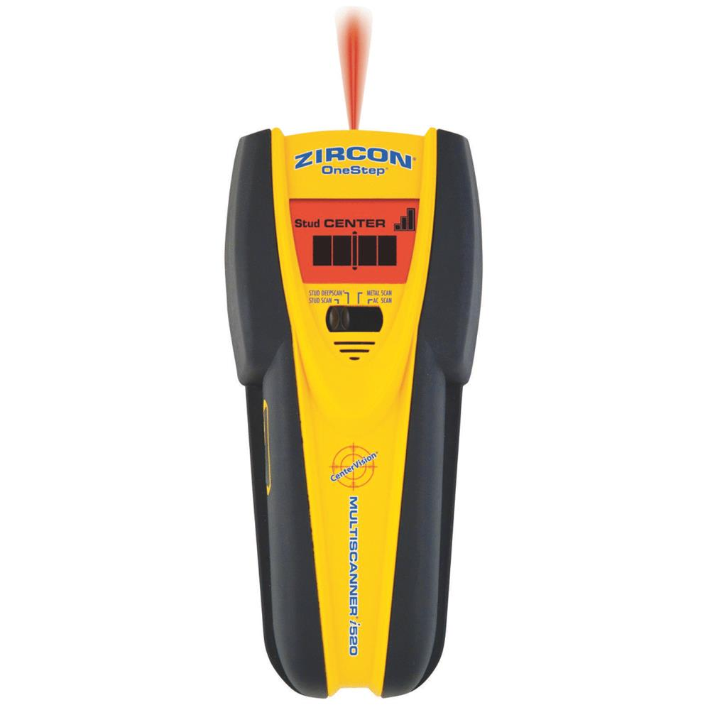 Zircon Electronic Stud Finder, Professional, Multifunction, Center-Finding, 61910