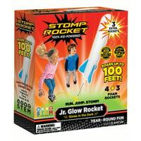 Stomp Rocket Jr. Glow and Rocket Refill Pack, 7 Rockets