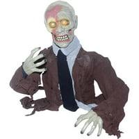 "2'3"" Groundbreaker Zombie Halloween Decoration"