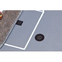 Walthers SceneMaster HO Scale Manhole Covers & Sewer Grates (Etched-Metal)