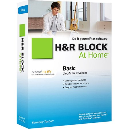 H Block At Home 2010 Basic Federal + eFile