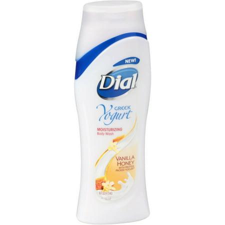 Dial Yogurt - Dial Nourishing Body Wash, Yogurt Vanilla Honey 16 oz (Pack of 4)