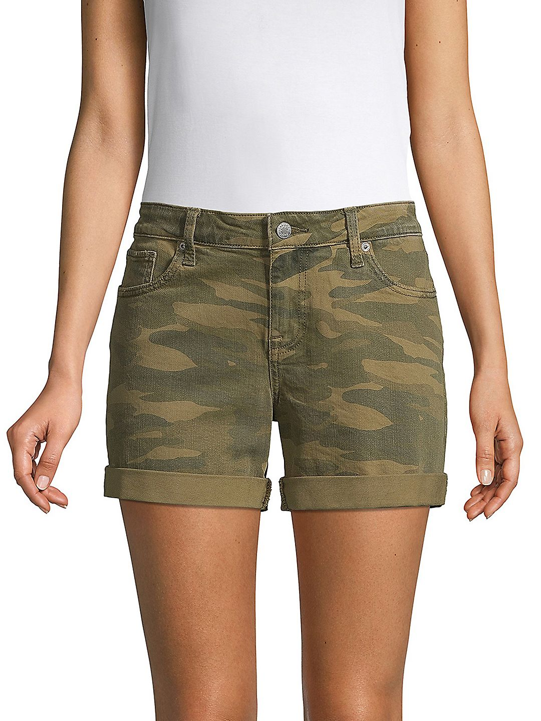 Camouflage Stretch Shorts