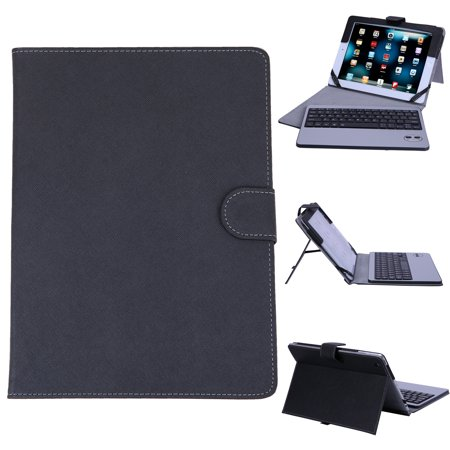 Ipad 2 Case Cover - HDE iPad 2 iPad 3 iPad 4 Bluetooth Keyboard Case Leather Folio Magnetic Cover for 2nd 3rd 4th Generation Apple iPad (Black)