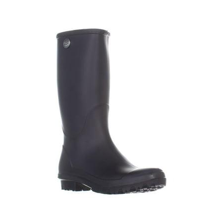 Womens UGG Australia Shelby Matte Rain Boots, Black ()