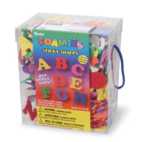 Foamies Stickers Alphabet 5Oz