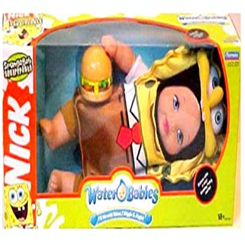 Nickelodeon 2006 SpongeBob SquarePants Waterbabies Baby Doll by Playmates by