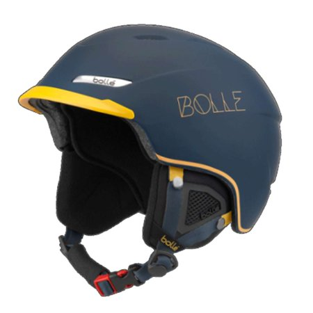 Bolle Beat All-Mountain Ski Helmet - Soft Navy & Mustard ()