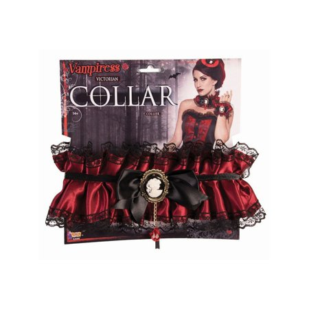 Halloween Vampire Victorian Collar](Victorian Halloween Frame)