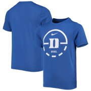 Duke Blue Devils Nike Youth Team Basketball Legend Performance T-Shirt - Royal
