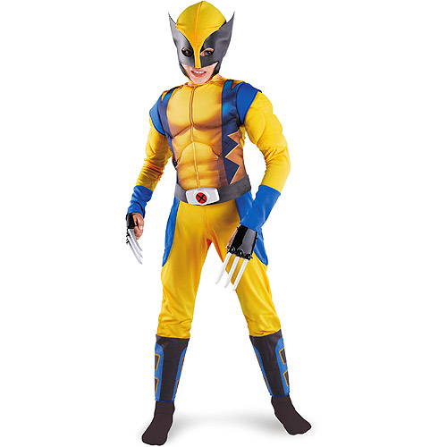 Marvel X-Men Origins-Wolverine Muscle Child Halloween Costume