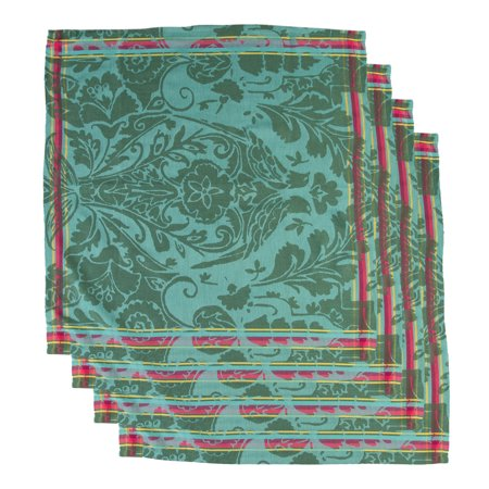 "Tag (4 Pack) 20x20"" 100% Cotton Napkins Dining Table Home Decor Cloth Napkins Fabric Dinner Napkins ()"