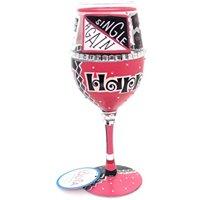 Lolita Happily Divorced Wine Glass #4056850