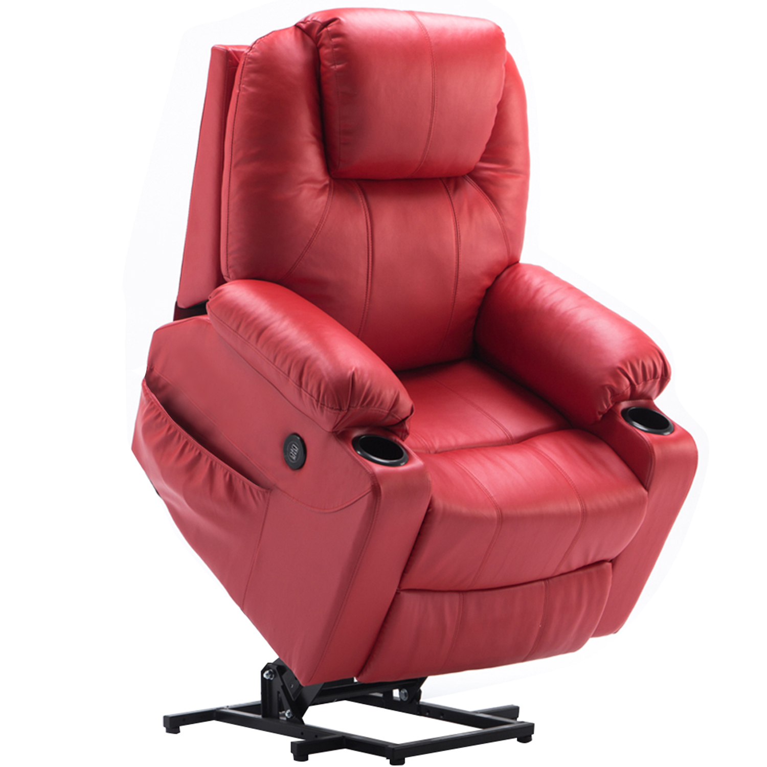 Product Image Electric Power Lift Chair Massage Sofa Recliner Heated Chair  Lounge W/Remote Control Dual USB