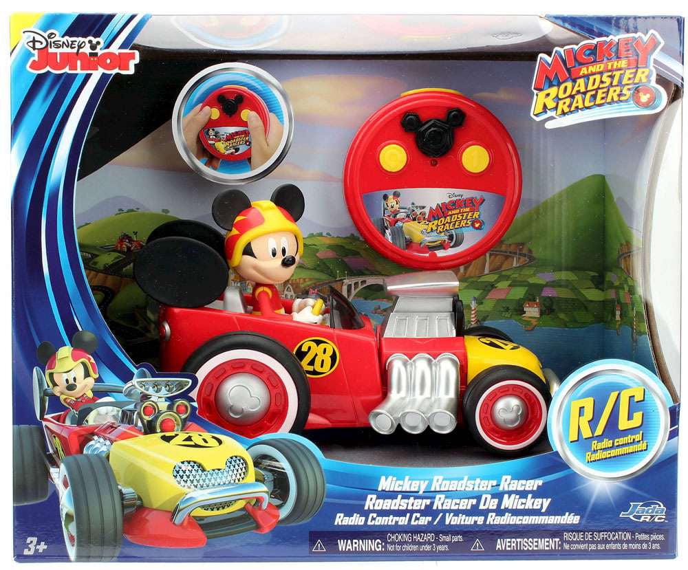 Disney Junior Mickey & Roadster Racers Mickey Roadster Racer R C Vehicle by Jada Toys