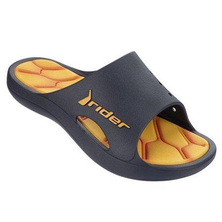 2e3388027 Rider - Rider Kids Bay 4 Slide Sandal (Yellow Kids Size 3) - Walmart.com