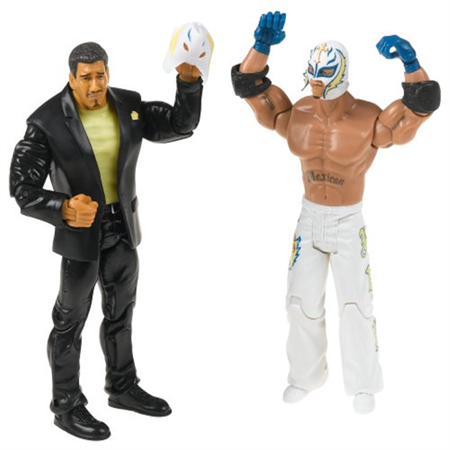 WWE Adrenaline Series 15 Eddie Guerrero & Rey Mysterio w/Ripped Mask 2-Pack Action Figures for $<!---->