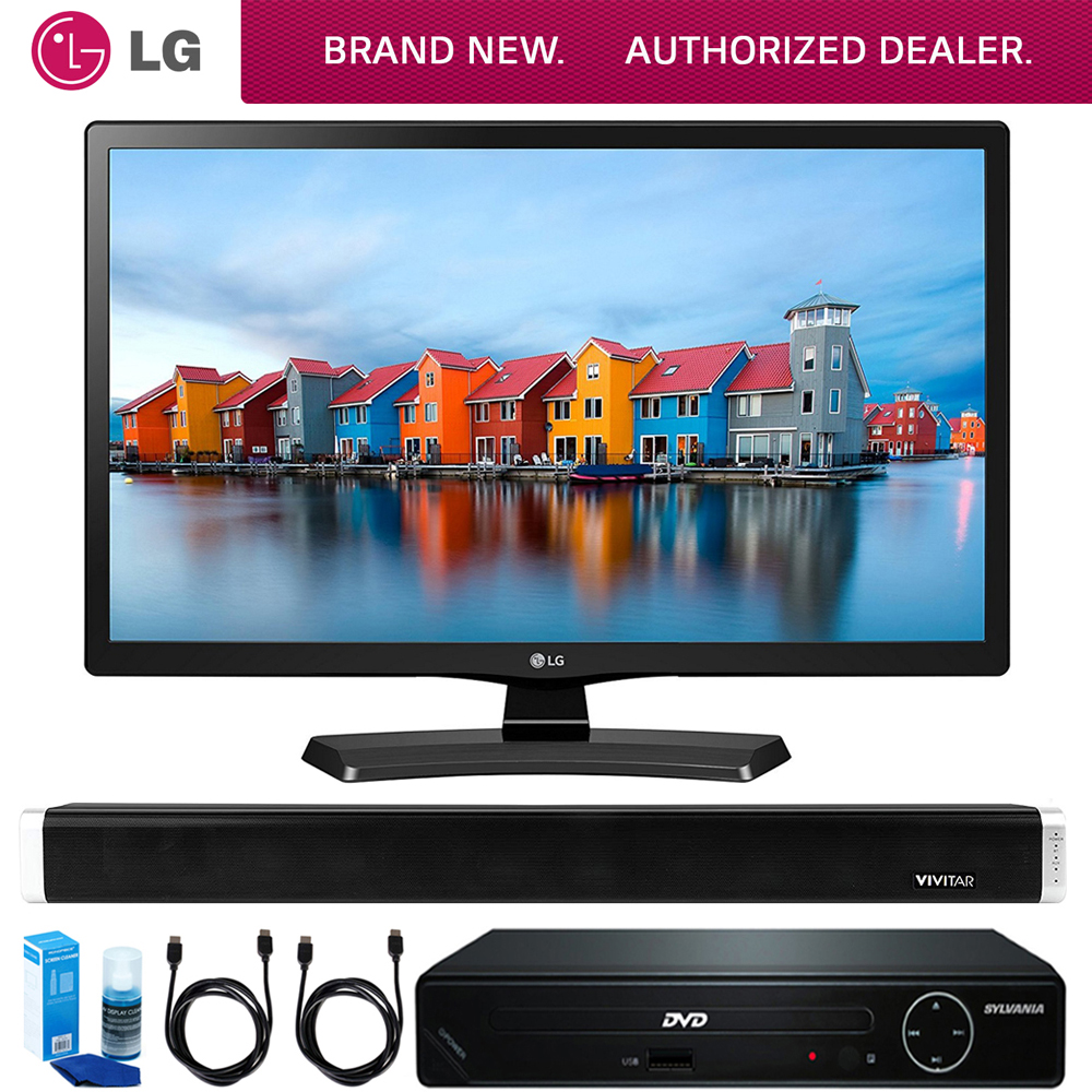 LG 24LH4830-PU 24-Inch Smart LED TV (2017 Model) + HDMI