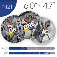 MyONE Condoms Size M21, 6-Count