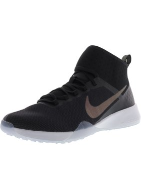 e82b5d854cd985 Product Image Nike Women s Air Zoom Strong 2 Metallic Black   Multicolor  Ankle-High Mesh Training Shoes