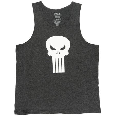 79cc3f3f MARVEL - Marvel Punisher Tank Top Shirt Netflix Series TV Show Tee Comic  Heather Charcoal - Walmart.com