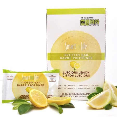Smart for Life Low Sugar Luscious Lemon Protein Bars 12 Ct. - Homemade Lemon Bars