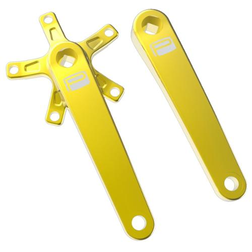 Promax SQ-1 Square Taper JIS Cold Forged Crank Arms 135mm Gold