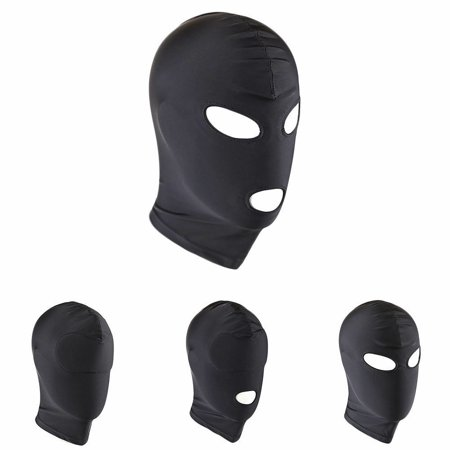 Sex Restraint Head Hood Eye Mask Gear Leather Roleplay Half Face Dungeon Cosplay](Goat Head Mask)