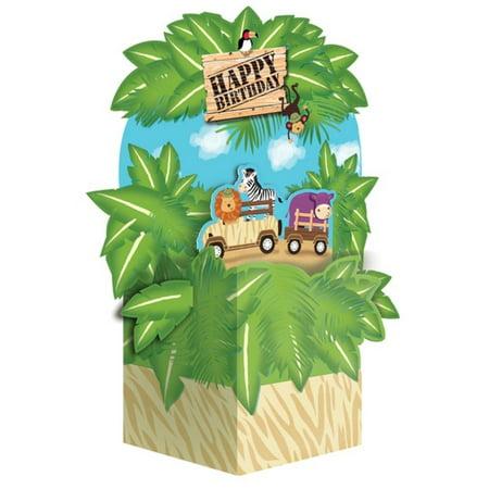 Pack of 6 Safari Adventure Jungle Themed